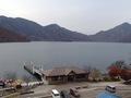 中禅寺温泉 湖畔の見える露天風呂 日光山水