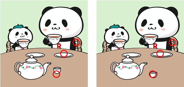 パンダ 探し 楽天 間違い