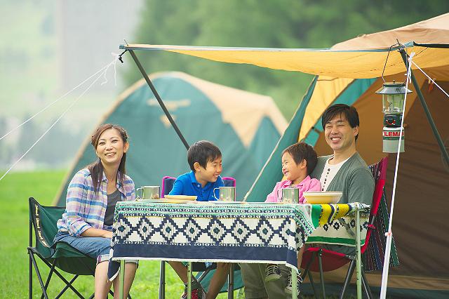 【夏休み限定】キャンプ村営業