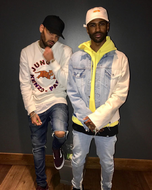 Big-Sean-Off-White-Levis-jacket-Chris-Brown-Kenzo-HM-shirt-Vans-sneakers.jpg
