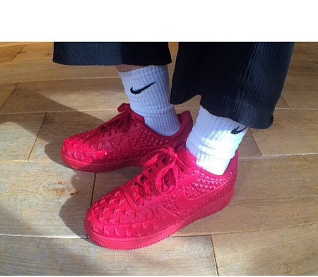 Nike Air Force 1 Lv8 Vt Red