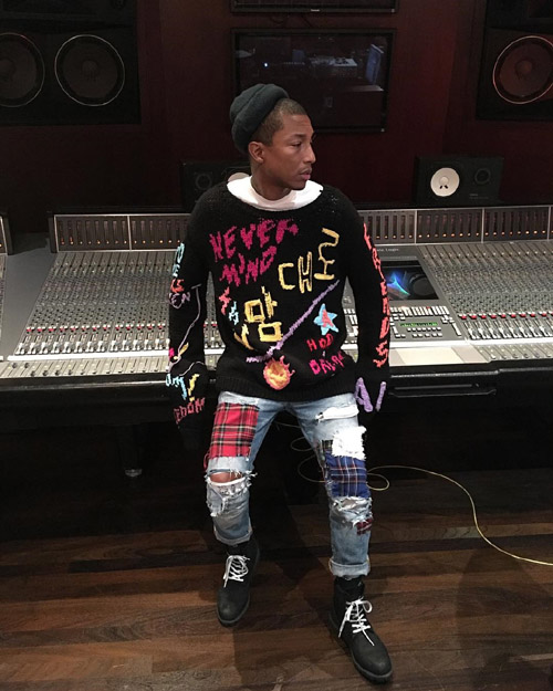 Pharrell-99IS-sweater-Timberland-boots.jpg