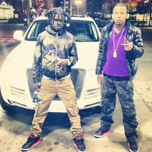 Chief-Keef-in-the-Air-Jordan-3-Bright-Crimson.jpg