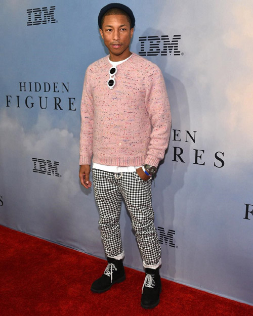 Pharrell-Williams-Chanel-shades-G-Star-pants-Timberland-boots-3.jpg