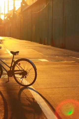 自転車のサドルが盗まれた ...