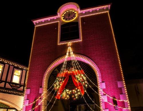 神戸布引ハーブ園の古城のクリスマス.jpg