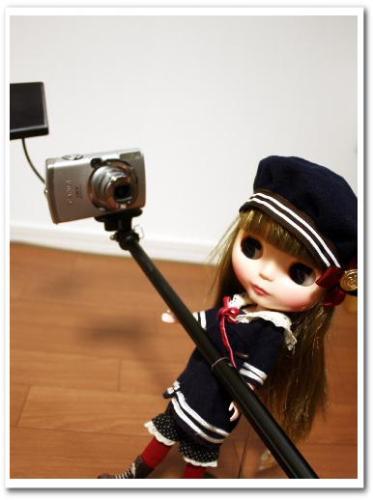 可愛い自分撮り・自撮り写真ができる方法とコツ カメラ用ミラー(鏡)つきアーム・一脚・ポール bou5 019.jpg
