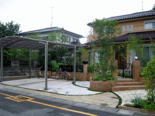 エクステリア工事で素敵になった熊谷市・T様邸