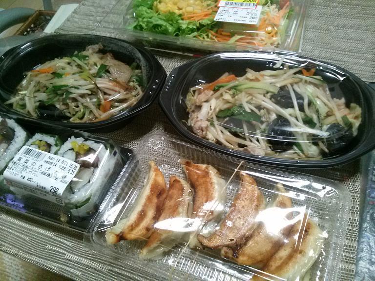 本日の肴 「餃子の満州 お持ち帰り中華」