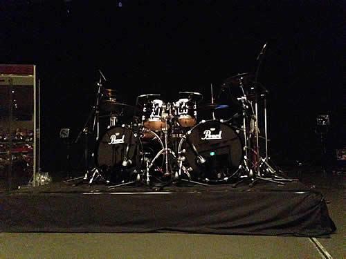 Mike Mangini's Drum set