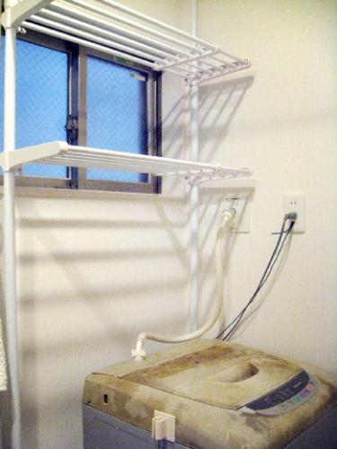 つっぱりランドリーラック 洗濯機ラック レビュー 口コミ画像014.jpg