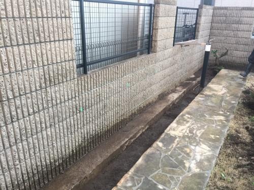 煉瓦積基礎根堀