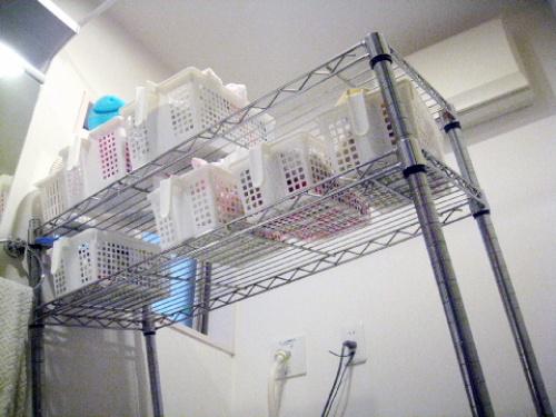 つっぱりランドリーラック 洗濯機ラック レビュー 口コミ画像010.jpg
