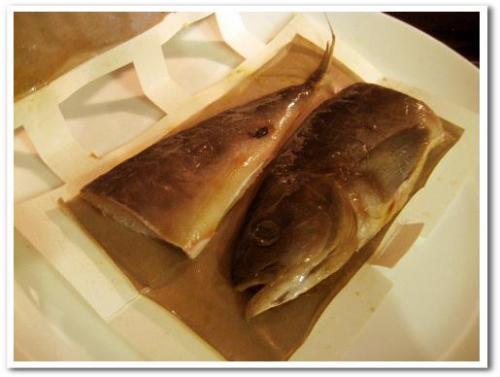 電子レンジでの焼き魚の焼き方 チンしてこんがり魚焼きパック 小林製薬 007.jpg