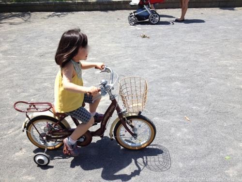 コモちゃんは、先月自転車をこ ...