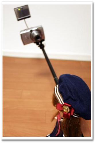 可愛い自分撮り・自撮り写真ができる方法とコツ カメラ用ミラー(鏡)つきアーム・一脚・ポール bou5 017.jpg