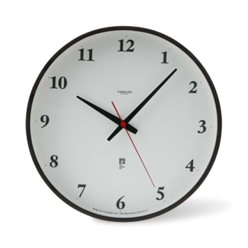 ディスクトップにアナログ時計(まるい時計)を表 …