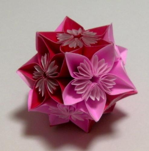 折り 折り紙:折り紙花くす玉-plaza.rakuten.co.jp