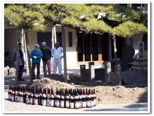柴又帝釈天 瑞龍松 寒肥 日本酒 2013 005.jpg
