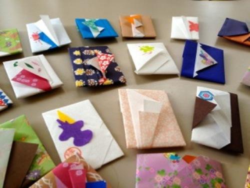 ハート 折り紙 折り紙お年玉袋折り方 : divulgando.net