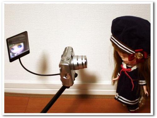 可愛い自分撮り・自撮り写真ができる方法とコツ カメラ用ミラー(鏡)つきアーム・一脚・ポール bou5 016.jpg