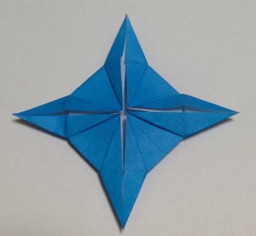 折り紙の 色んな折り紙の作り方 : ☝️ひっくり返して 👇この ...