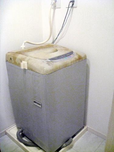つっぱりランドリーラック 洗濯機ラック レビュー 口コミ画像012.jpg