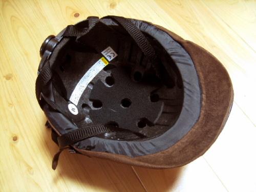 おすすめのおしゃれな自転車ヘルメット「カポル メイプル(ダークブラウン) 」口コミ・レビュー画像 005.jpg