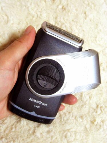旅行用におすすめの電動ひげそり「ブラウン ポケットシェーバー M-90」携帯用 019.jpg