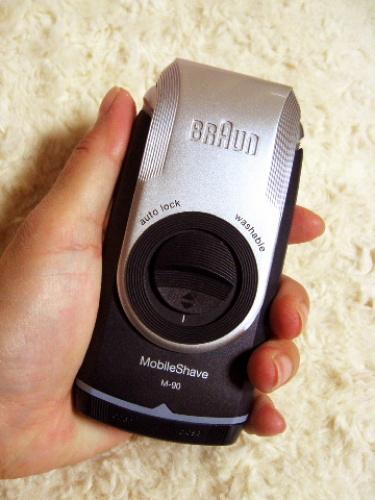 旅行用におすすめの電動ひげそり「ブラウン ポケットシェーバー M-90」携帯用 006.jpg