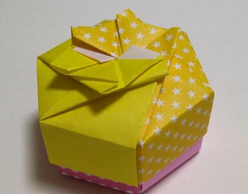 簡単 折り紙 折り紙 箱 六角形 : plaza.rakuten.co.jp