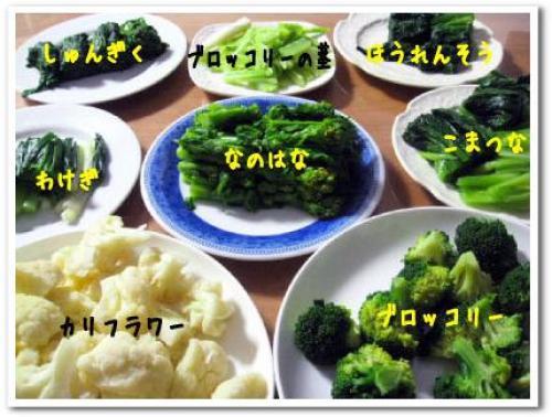 青菜 ゆで野菜 冷凍保存 方法 画像.jpg