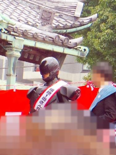 葛飾 柴又帝釈天 節分 豆まき 画像 2014005.jpg