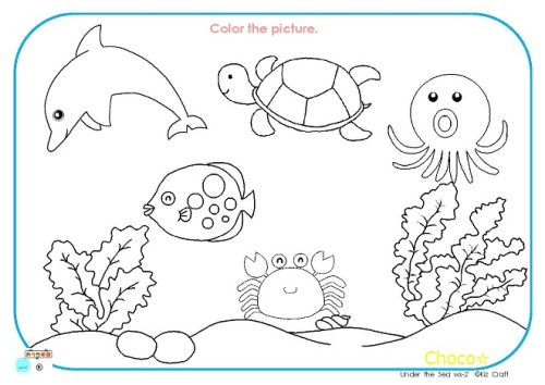 Image Result For Ocean Coloring Pages