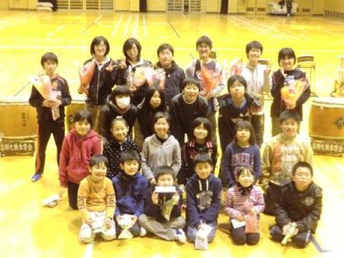 2012/02/22 6年生送る会