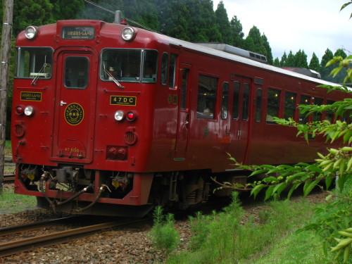 熊本地震復興支援列車JR九州特急いさぶろう・しんぺい.jpg