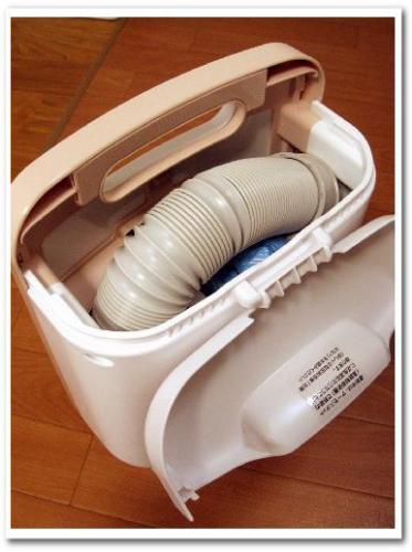 布団、衣類や靴の乾燥、ダニ退治に!おすすめ布団乾燥機(使い方・電気代・時間)三菱 MITSUBISHI AD-S50のレビュー004.jpg