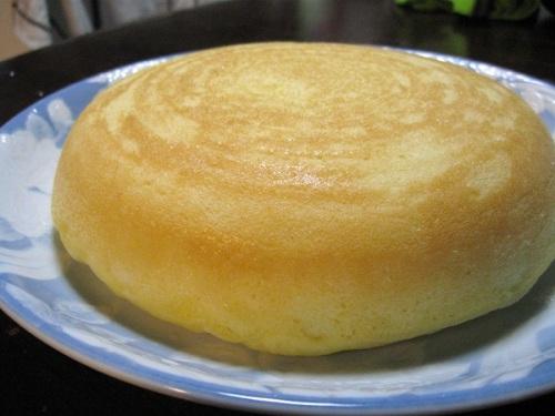 炊飯器で作チーズの入らないチーズケーキ.jpg