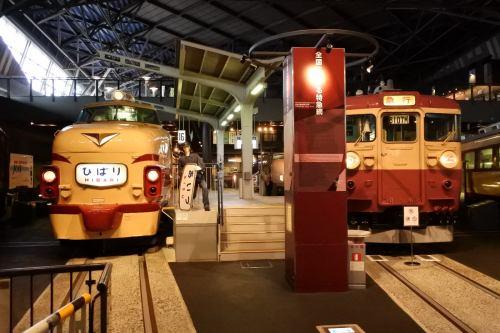 485 Series & 455 Series in The Railway Museum