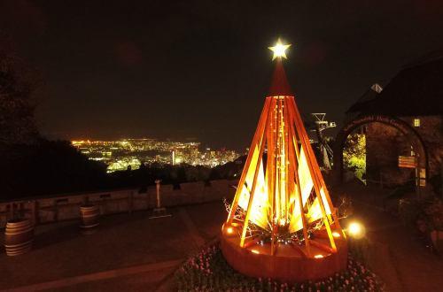 神戸布引ハーブ園の古城のクリスマス2016その2.jpg