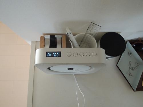 そしてそして、FMラジオも聴けるのですーーー(^^♪