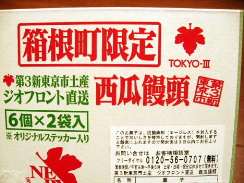 箱根フリーパスを使って箱根・芦ノ湖を観光してみた エヴァンゲリオングッズ「西瓜饅頭」 008.jpg