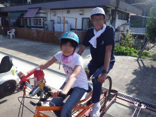 自転車の 神岡 自転車 線路 : ... になった神岡鉄道の線路の上を