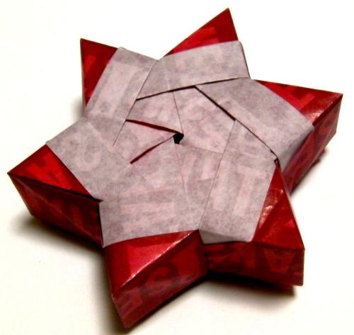 簡単 折り紙:折り紙で箱-divulgando.net