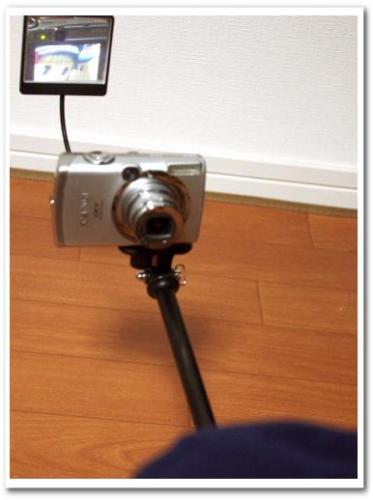 可愛い自分撮り・自撮り写真ができる方法とコツ カメラ用ミラー(鏡)つきアーム・一脚・ポール bou5 018.jpg