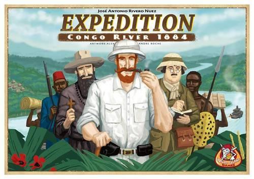 ゲーム紹介】探検:コンゴ川1884年(Expedition: Congo River 1884 ...