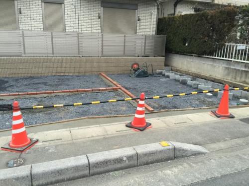 熊谷市N様邸アパート外構施工例
