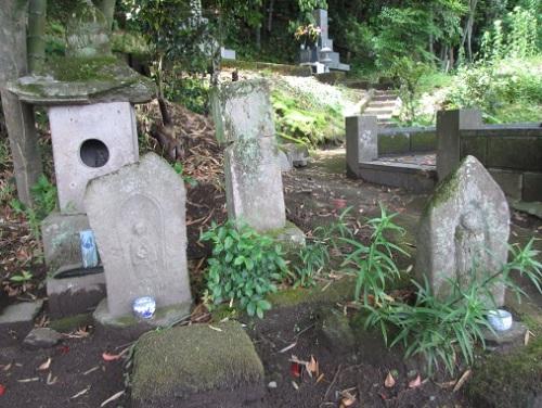 日置市伊集院の広済寺跡墓地を訪...