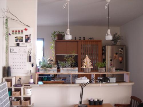 カフェ風キッチン   green home ...