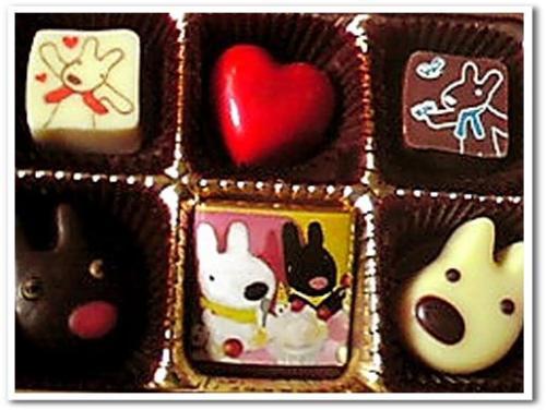 リサとガスパール チョコ 画像 バレンタイン 2013.jpg